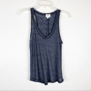 Project Social T Gray Lightweight Casual Tank Top